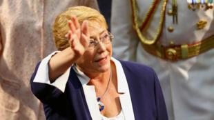 """Bachelet deberá enfrentar el aumento del """"odio y la desigualdad"""" en el mundo, según el secretario general de la ONU, Antonio Guterres."""