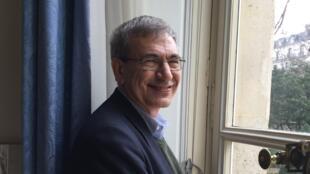 L'écrivain turc et Prix Nobel de Littérature Orhan Pamuk.