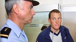 Lance Armstrong, ancien cycliste américain, déchu de ses 7 Tours de France.