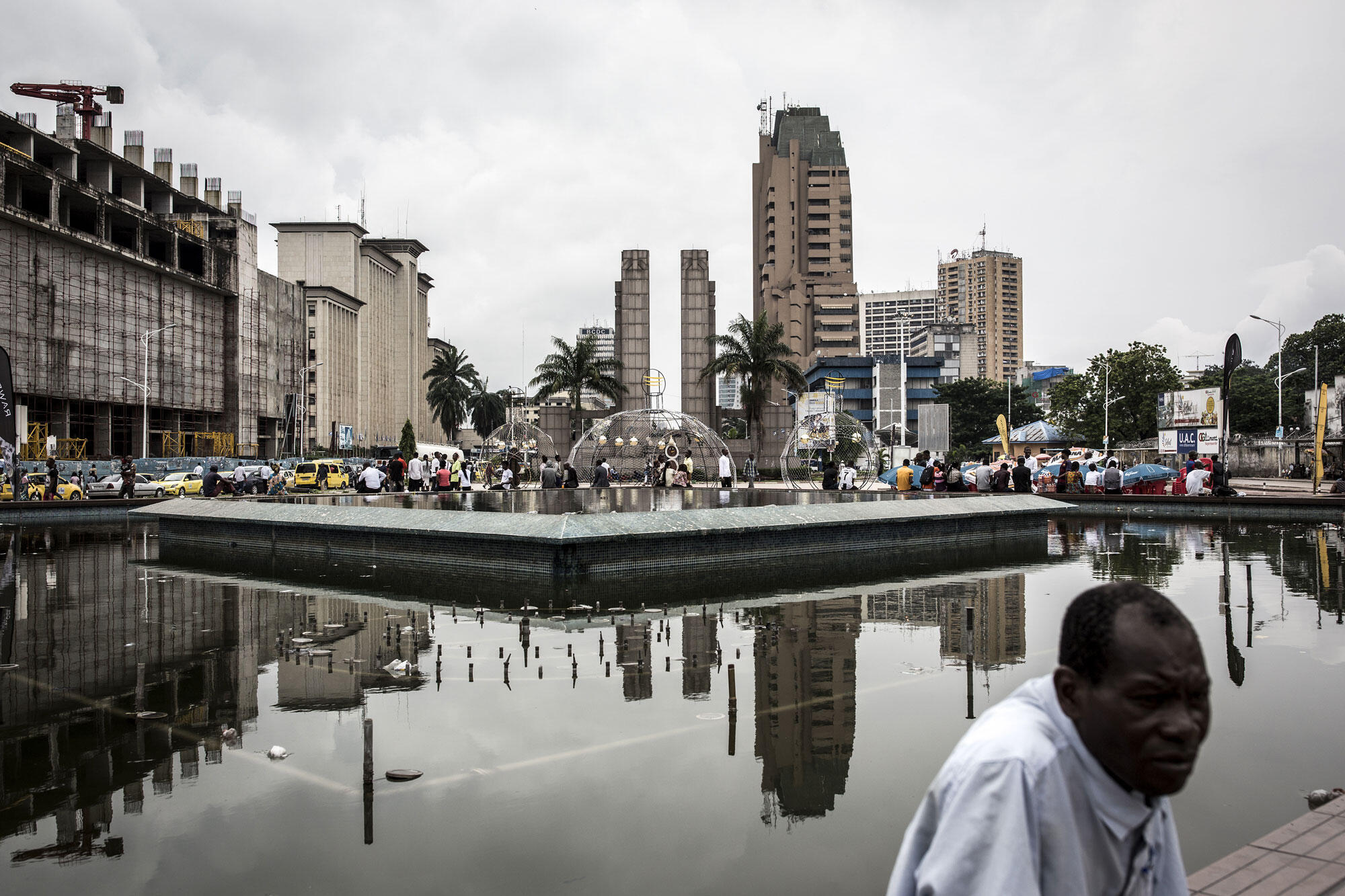 Kinshasa, vue de la ville en RDC (image illustration).