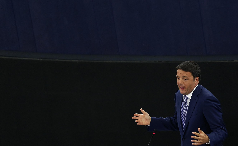 Reforma do código do trabalho foi apresentada pelo primeiro-ministro italiano, Matteo Renzi.