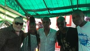 Mao Otayeck, Marema, Claudy Siar, Yabongo Lova et Joel Niablé du site anoumabo.com.