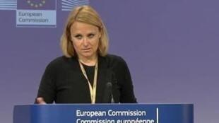Майя Коциянчич - пресс-секретарь главы европейской дипломатии Кэтрин Эштон