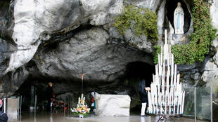 Grotto of the Apparitions at Lourdes, France