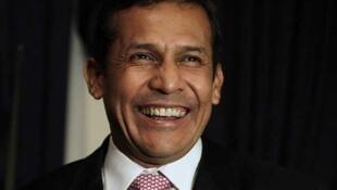 President-elect Ollanta Humala