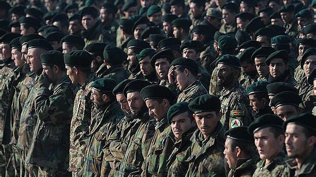 نظامیان ارتش افغانستان