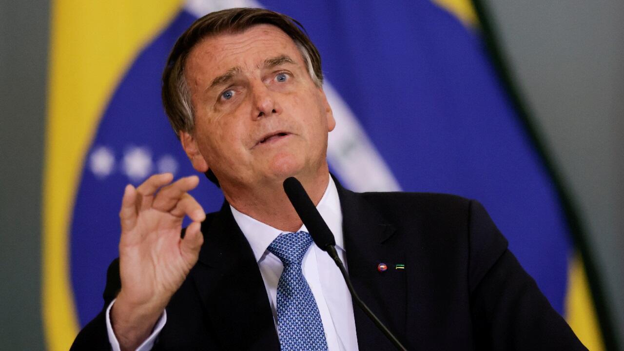 PHOTO Jair Bolsonaro - 7 octobre 2021