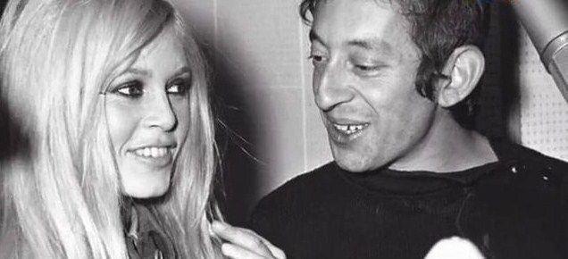 Brigitte Bardot و Serge Gainsbourg