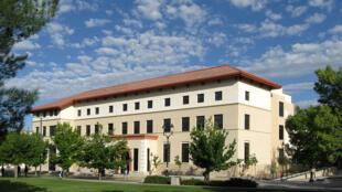 L'université d'État du Nouveau-Mexique, dans le sud des États-Unis.