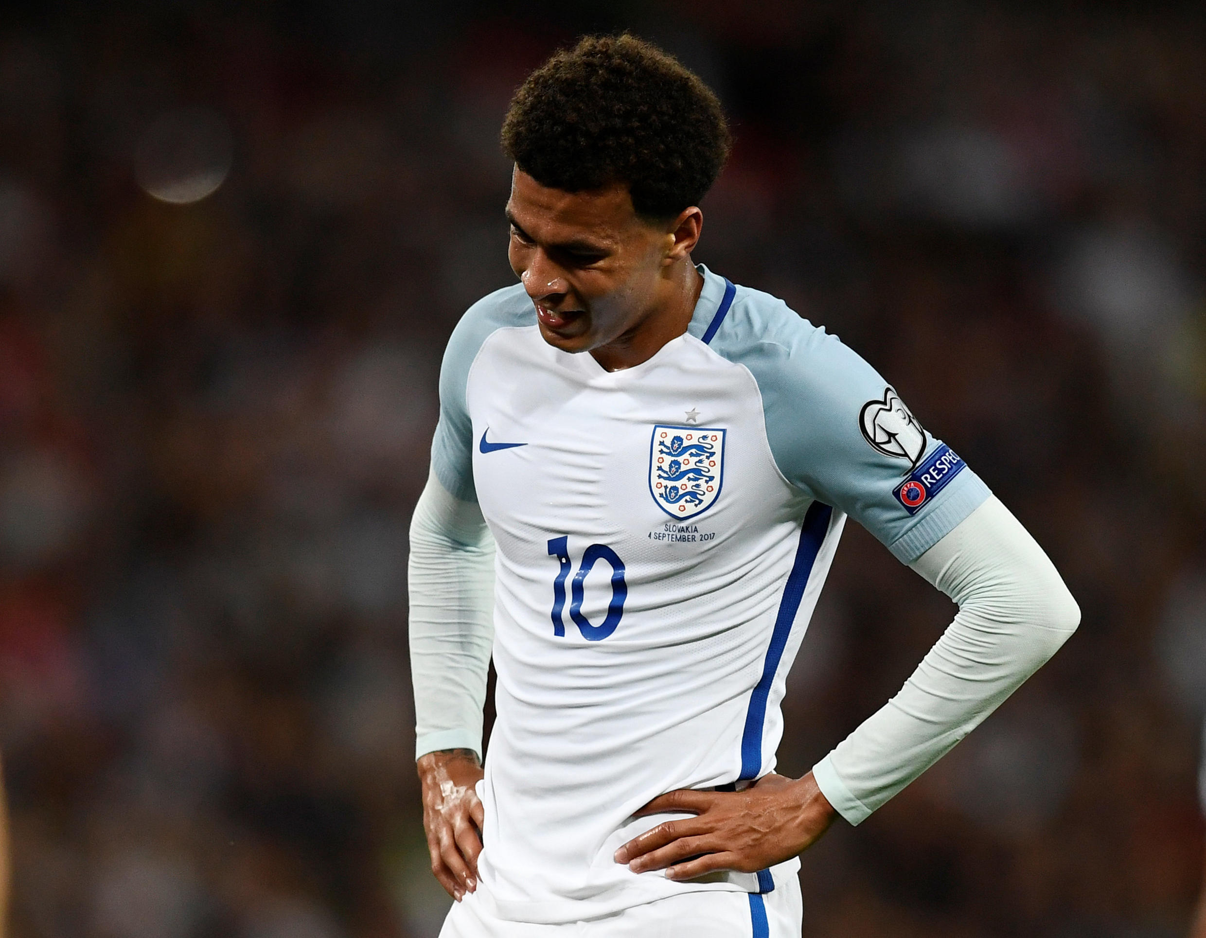 Delle Alli will be able to play in England's final Group F match on 8 October in Lithuania.