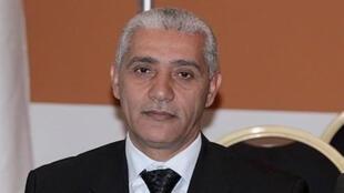 Ministan wasannin kasar Morocco Rachid Talbi Alami.
