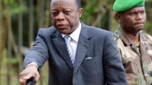 Le général Jean-Marie Michel Mokoko en 2016.