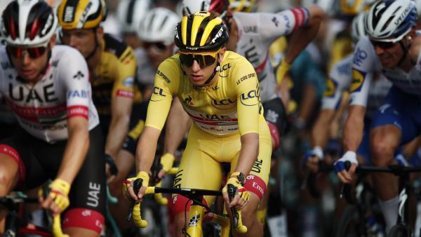 Le Slovène Tadej Pogacar, le 20 septembre 2020, jour de sa victoire sur le Tour de France.