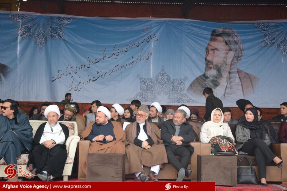 مراسم بیست و پنجمین سالروز شهادت عبدالعلی مزاری هدف حمله مسلحانه قرار گرفت.