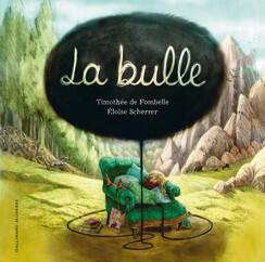 "Capa do livro ""La Bulle"", de Timothée de Fombelle e Eloïse Scherrer"