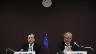 O presidente do Banco Central Europeu (BCE), Mario Draghi.