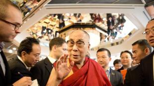 Le Dalaï Lama à Hambourg, le 27 août 2014.