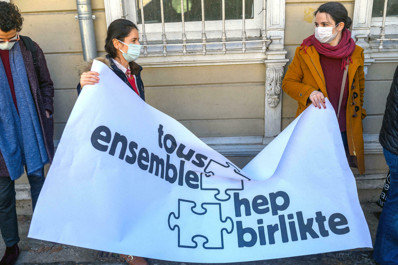 Turquie - France - Galatasaray - Université - Manifestation - 000_93L9VX