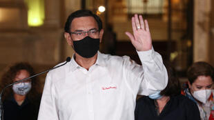 Le président péruvien destitué Martin Vizcarra, le 9 novembre.