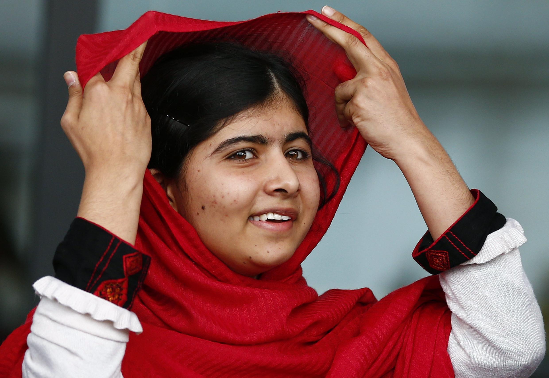 Malala Yousafzai, ce 3 septembre 2013 à Birmingham.