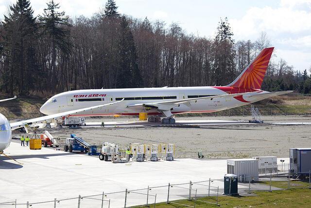 Malgrè ses difficultés financières, Air India cherche à acquérir les nouveaux Boeing 787, «Dreamliner».