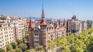 A Casa de les Punxes é uma das obras emblemáticas de Puig i Cadafalch