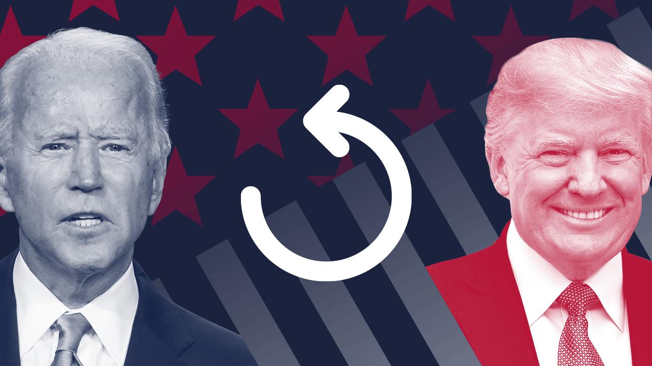 Joe Biden na Donald Trump.