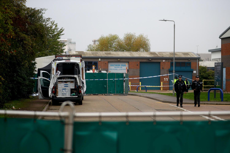 23 октября полиция обнаружила 39 тел мигрантов в грузовике в графстве Эссекс.