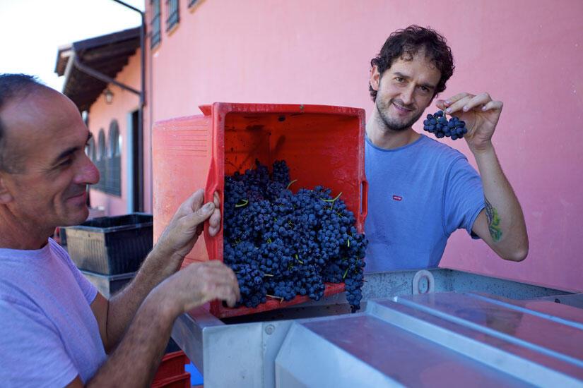 A família Voerzio e sua produção no Piemonte, norte da Itália.