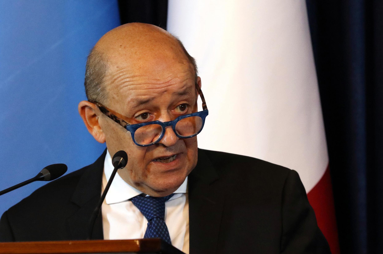 ژان-ایو لودریان وزیر امور خارجۀ فرانسه.