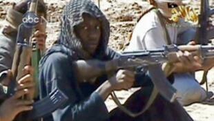 Umar Farouk Abdulmutallab dans une vidéo diffusée par al-Qaïda en avril 2010.