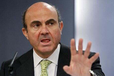 O ministro das Finanças espanhol, Luis de Guindos.