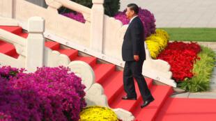 شی جین پینگ رئیس جمهوری چین کمونیست