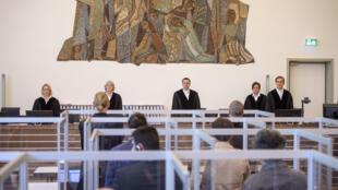 Apertura del juicio contra dos presuntos miembros de los servicios de información sirios en Coblenza (Alemania) el 23 de abril de 2020