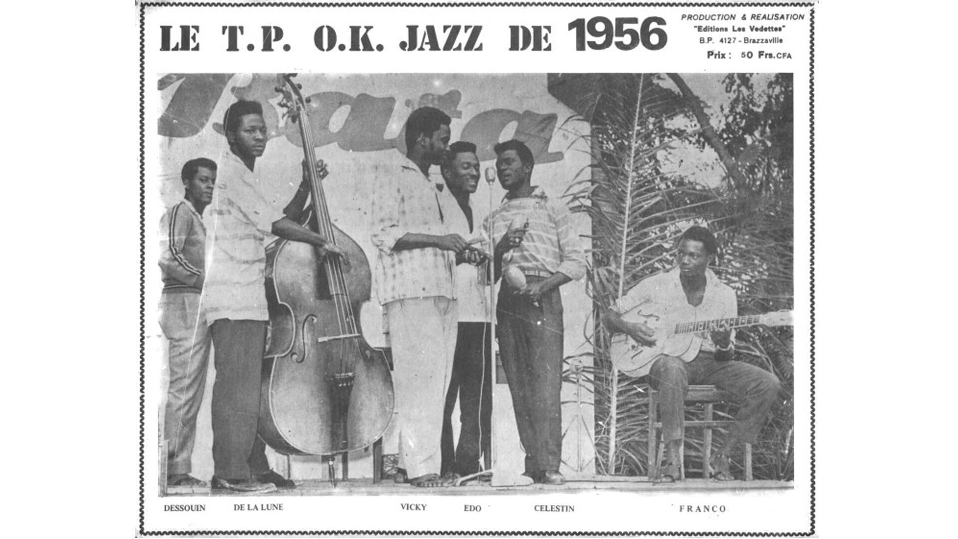 TP OK Jazz 1956.