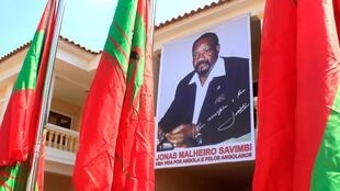 Jonas Savimbi, the controversial yet charismatic leader of UNITA.
