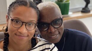 Angélique Kidjo et sa fille Naïma.