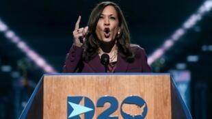 Les femmes ont été mises à l'honneur ce mercredi lors de la convention démocrate. La candidate à la vice-présidence des États-Unis Kamala Harris a, elle, évoqué sa mère.