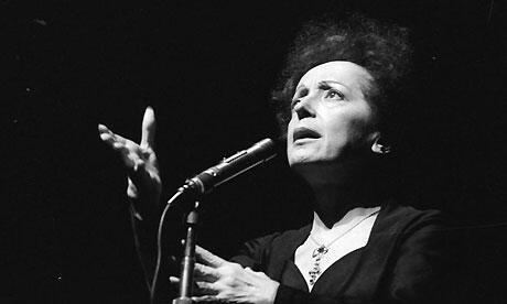 Edith Piaf dio decenas de conciertos en todo el mundo en sus más de 20 años de carrera.