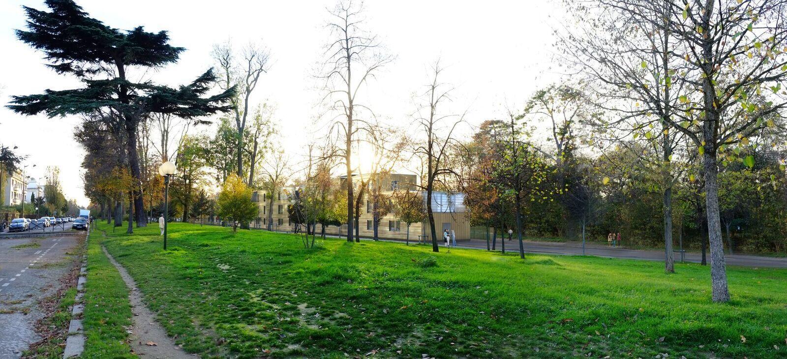 El Bois de Boulogne.