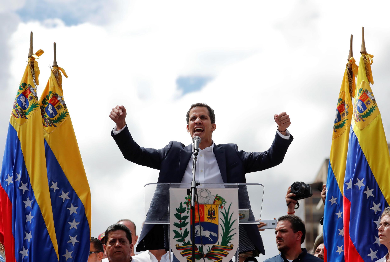 Juan Guaido s'est autoproclamé «président par intérim» du Venezuela mercredi 23 janvier à Caracas.