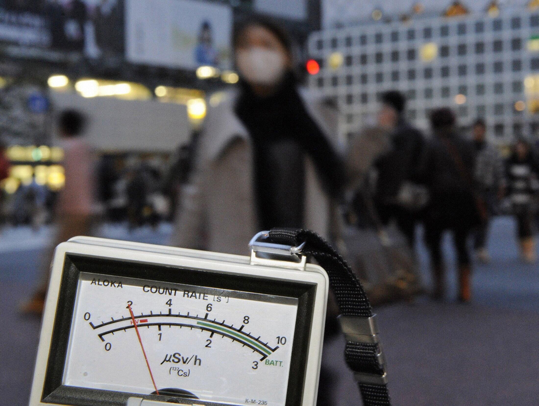 O nível de radiação em Tóquio subiu nesta terça-feira