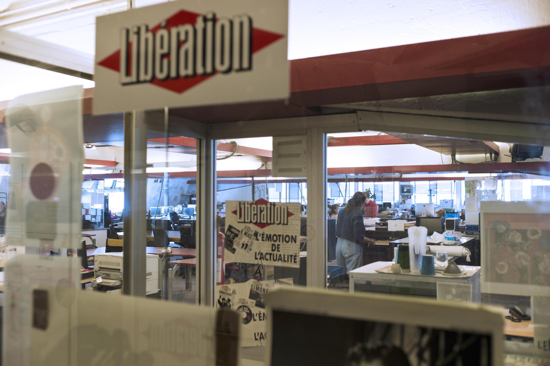 La rédaction du quotidien français «Libération» à Paris, le 3 septembre 2013.