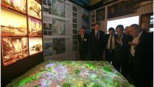 Inauguración de la exposición del 'Gran París'