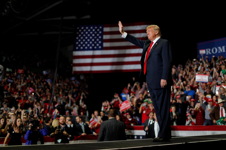 Para Trump, las elecciones iban más allá del Partido Republicano. Aquí en Missouri, el 5 de noviembre de 2018.