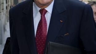 L'ancien président français Jacques Chirac, le 9 juillet 2008.