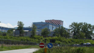 Le site du groupe sidérurgique italien Ilva de Novi Ligure, le 3 mai 2012.