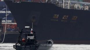North Korean container ship Chong Chon Gang