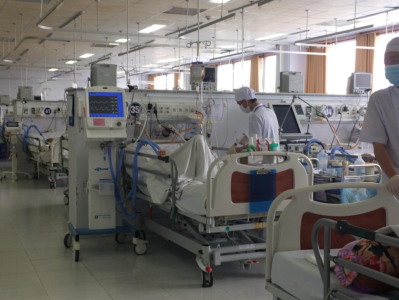 Trang thiết bị y tế của dự án ODA do Pháp tài trợ cho Bệnh viện Đa khoa thành phố Cần Thơ.