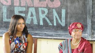 Michelle Obama Liberia éducation filles